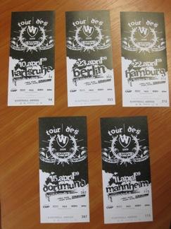 Weidner Tickets Vorschau