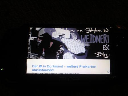 WWB auf PSP