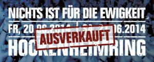 Böhse Onkelz - Hockenheimring AUSVERKAUFT