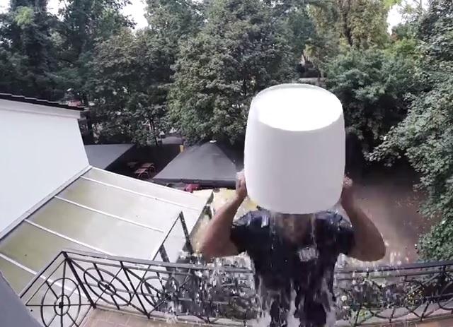 Moses Pelham ice bucket challenge